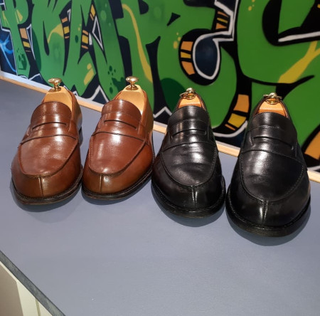 Nettoyage chaussures cuir et daim Arras